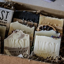 Stamping into Soap with West Dorset Soap